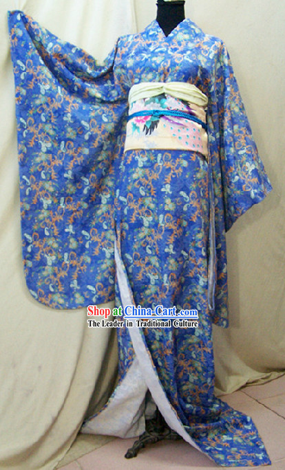 Japanese Kimono Costumes Complete Set for Women