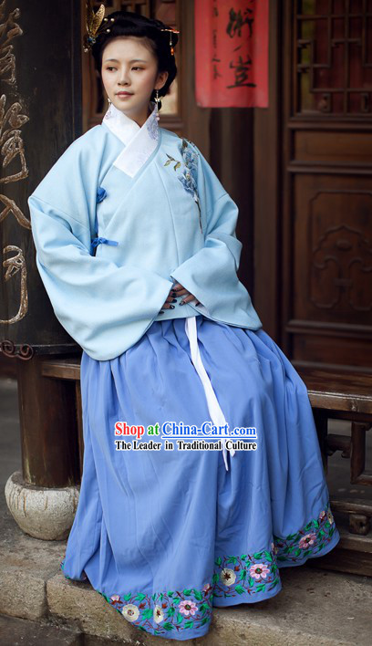 Ancient Chinese Ming Dynasty Clothing for Women