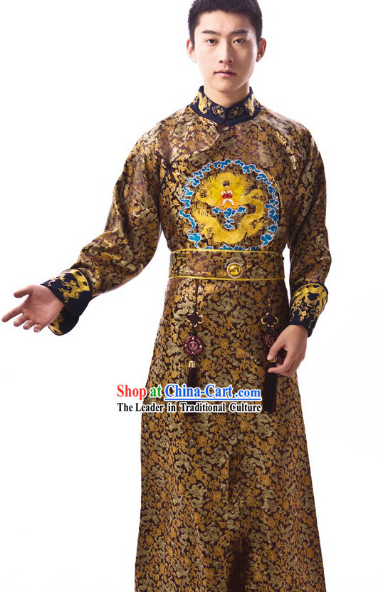 Asian prince costume