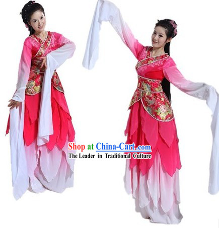 Long Sleeve Dance Costumes of Empresses in the Palace Zhen Huan Zhuan TV Drama