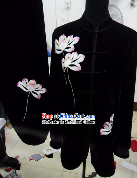 Traditional Chinese Velvet Tai Chi Suit