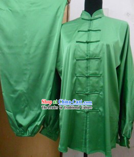 Traditional Chinese Silk Kung Fu Championship Uniform