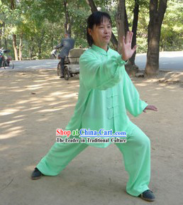 Traditional Chinese Silk Kung Fu Classes Uniform