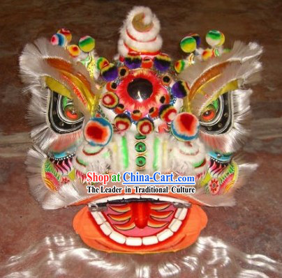 Old Southern Fo Shan Lion Dance Head