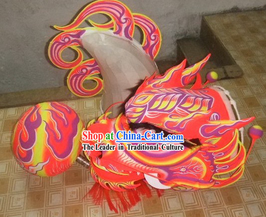 Traditional Chinese Luminous Dragon Costume for Nine or Ten People