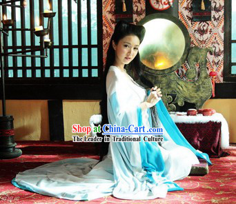 Xue Kaiqi Painted Skin TV Drama Serious Costume