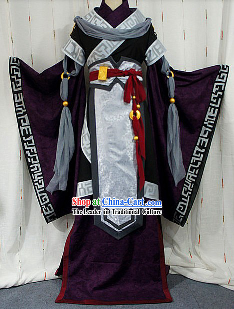 Ancient Chinese Empress Fairy Cosplay Costumes Complete Set