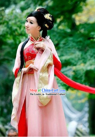 Traditional Chinese Tang Dynasty Sexy Cosplay Clothing for Women