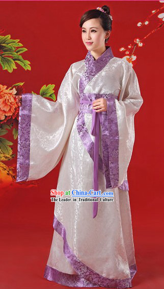 Traditional Chinese Han Dynasty Confucius Institute Female Hanfu Complete Set
