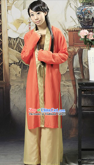 Ancient Chinese Hanfu Female Clothing for Ladies