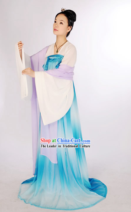 Ancient Chinese Palace Maid Costumes for Gallery Display or Show