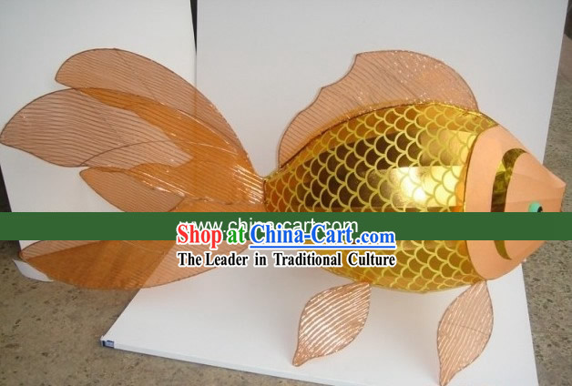 Traditional Chinese New Year Goldfish Carp Lantern