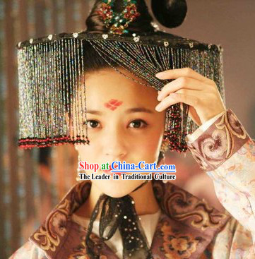 Legend of Daming Palace Princess Hat Headpiece