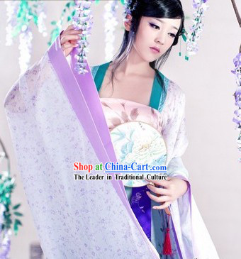 Chun Ru Xu Ancient Chinese Female Costumes Complete Set