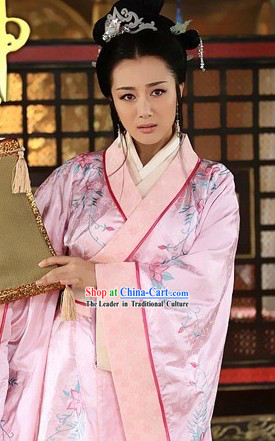 Ancient Chinese Imperial Palace Empress Clothing Complete Set