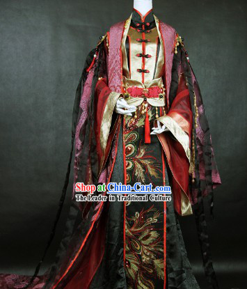 Supreme Classical Emperor Cosplay Costume Complete Set