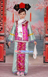 Princess Pearl of Returning The Return of The Pearl Princess Huan Zhu Ge Ge Costumes Complete Set for Women