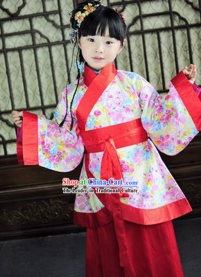 9aa5e32f917f Traditional Chinese Clothes for Little Girls