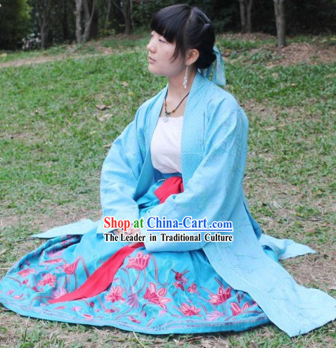Traditional Chinese Ming Dynasty Hanfu Garment for Women