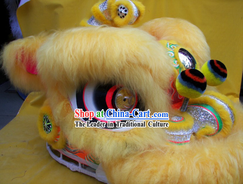 Professional Competition and Performance Lion Dance Costumes Complete Set for School Children