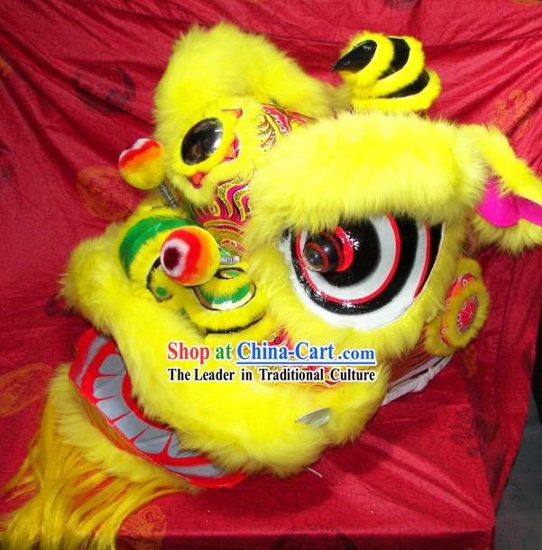 Top Quality Festival Celebration Fut San Lion Dance Costumes Complete Set