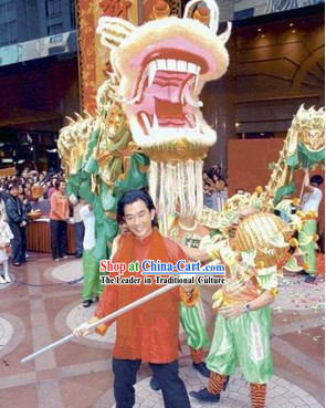 Supreme Best Shopping Mall Opening Festival Celebration Dragon Dance Costumes Complete Set