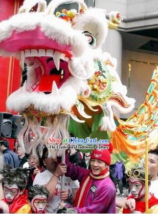 Supreme Best Important Occasions Handmade Dragon Dance Equipment Full Set