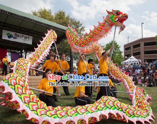 National Luminous Dragon Dance Championship Costumes Complete Set