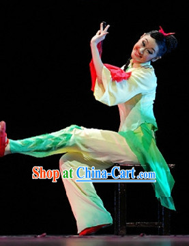 Professional Stage Performance Han Dynasty Clothes for Women