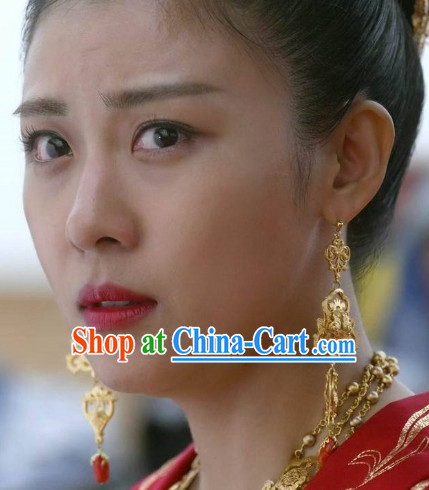 Ancient Korean Imperial Empress Earrings