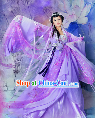 Ancient Chinese Fairy Costumes Complete Set
