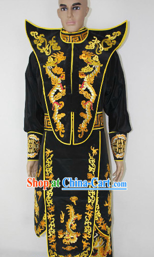 Chinese Ancient High Collar Mask Changing Costumes