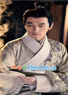 Ancient Han Dynasty Royal Hanfu Dresses for Men