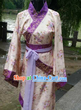 Ancient Chinese Han Dynasty Dresses for Men