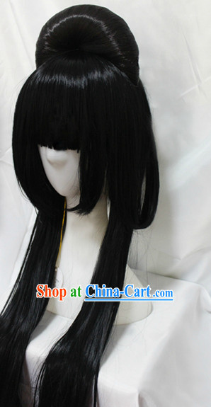 Ancient Asian Geisha Wig
