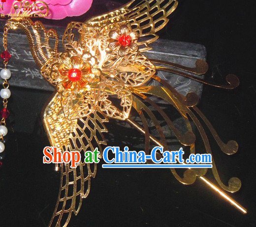 Ancient Chinese Empress Phoenix Headwear