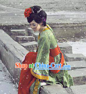 Gong Sun Ling Long Costumes and Mask