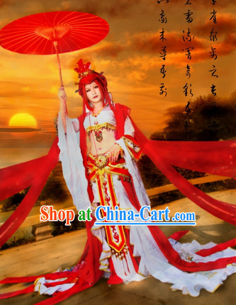 Ancient Empress Cosplay Costumes Complete Set