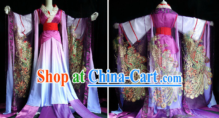 Ancient Chinese Empress Phoenix Costumes Complete Set