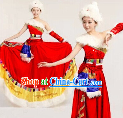 Tibetan Dance Recital and Competition Costumes