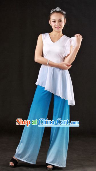 Han Ethnic Minority Color Transition Dance Costumes