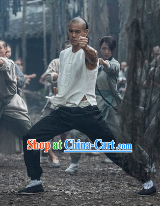 Chinese Kung Fu Brothers Traditional Costumes