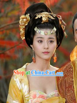 Yang Guifei Tang Empress Hair Accessories and Wig