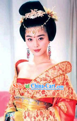 Yang Yuhuan Hair Accessories and Wig