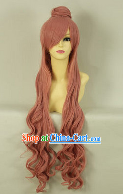 Ancient Chinese Guzhuang Cosplay Long Wig
