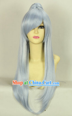 Ancient Chinese Guzhuang Cosplay Long Wigs