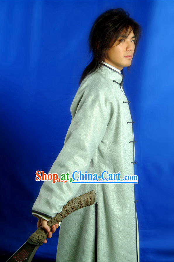Chinese Traditional Gong Fu Master Costumes for Men