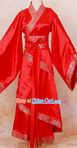 Made-to measure Ancient Chinese Wedding Outfit for Brides