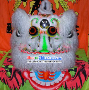 Carrot Wool Traditional Chinese Hok San Lion Dance Costumes Complete Set