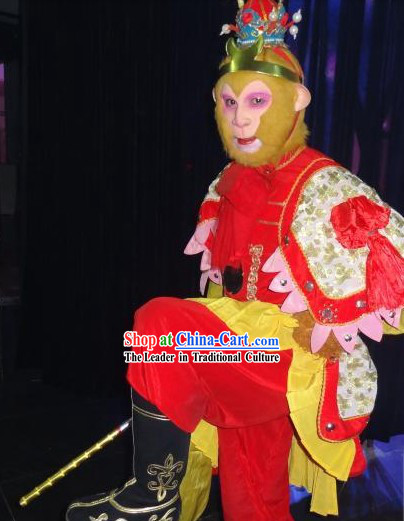 Monkey King Sun Wukong Costumes Accessories Boots and Mask